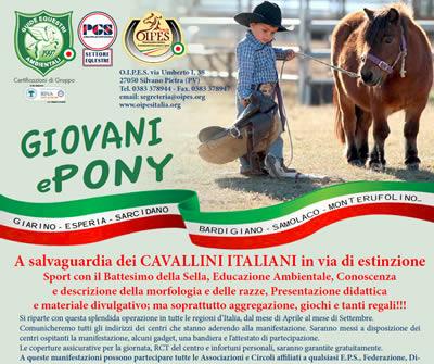 Giovani e Pony